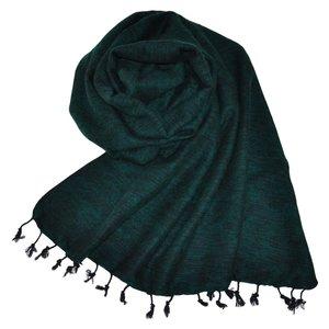 Nepal Schal Smaragdgrün #927