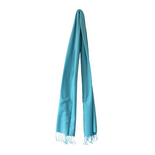 Pashmina Hell türkis blau | Stilvolle Ergänzung zu Ihrer Kleidung