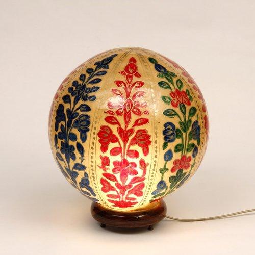 Orientalische Tischlampe | Handbemalt und einzigartig