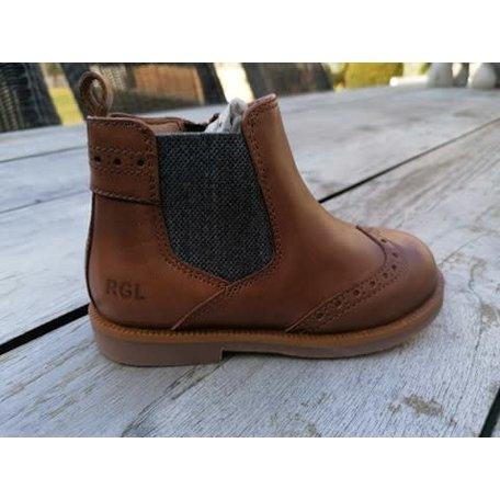 6243R538 Romagnoli cognac  shelsea boots