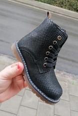 Bana & co 20237015 Bana & Co boots zwart python