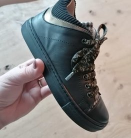 Romagnoli 6673R101 Romagnoli zwarte sneaker