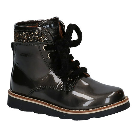 Boots  donkergrijs lak