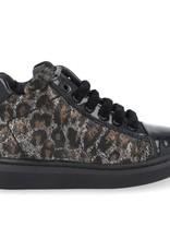 Stones And Bones 4261 Stones And Bones sneaker zwart lak leopard