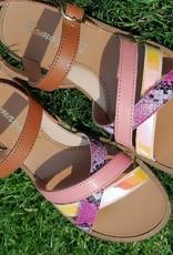 Romagnoli Romagnoli color sandaal
