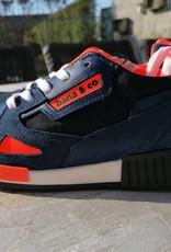 Bana & co Bana & co sneaker blauw en oranje