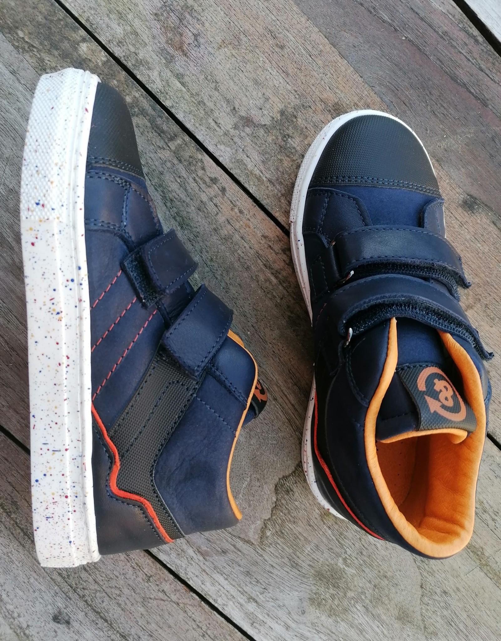 Bana & co 20232516 Bana & Co hoge sneaker met velcro blauw
