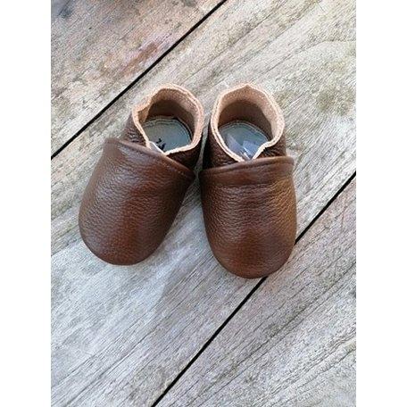 Stabifoot babysoft donker bruin