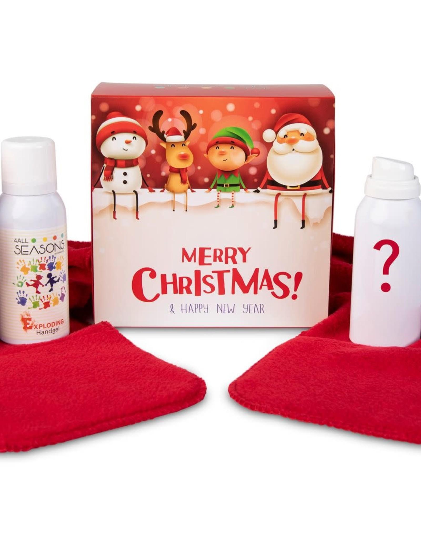 4 all seasons 4allseasons kerstdoos rood