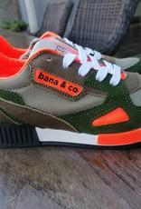 Bana & co Bana & Co sneaker Velours kaki