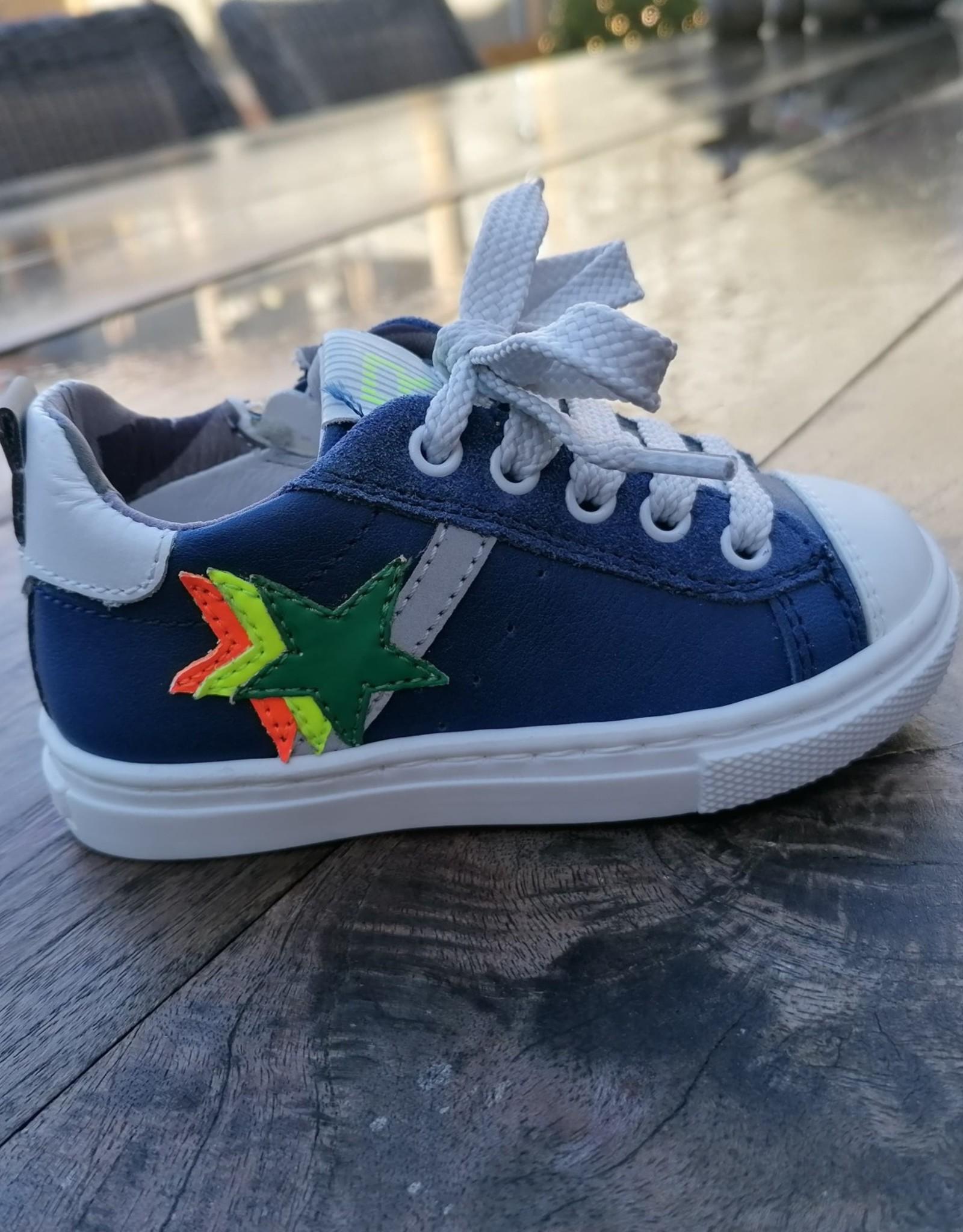 Romagnoli Sneaker donkerblauw met ster