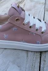 Stones And Bones Stones And Bones sneaker roze met zwaantjes