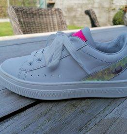 Romagnoli Romagnoli sneaker wit met roze
