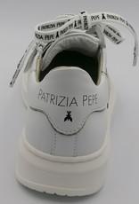 Patrizia Pepe Patrizia Pepe sneaker wit -goud-zwart