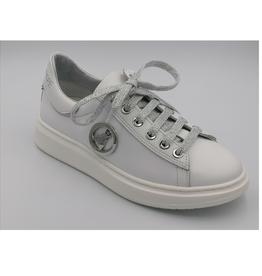 Patrizia Pepe Patrizia Pepe sneaker wit- zilver