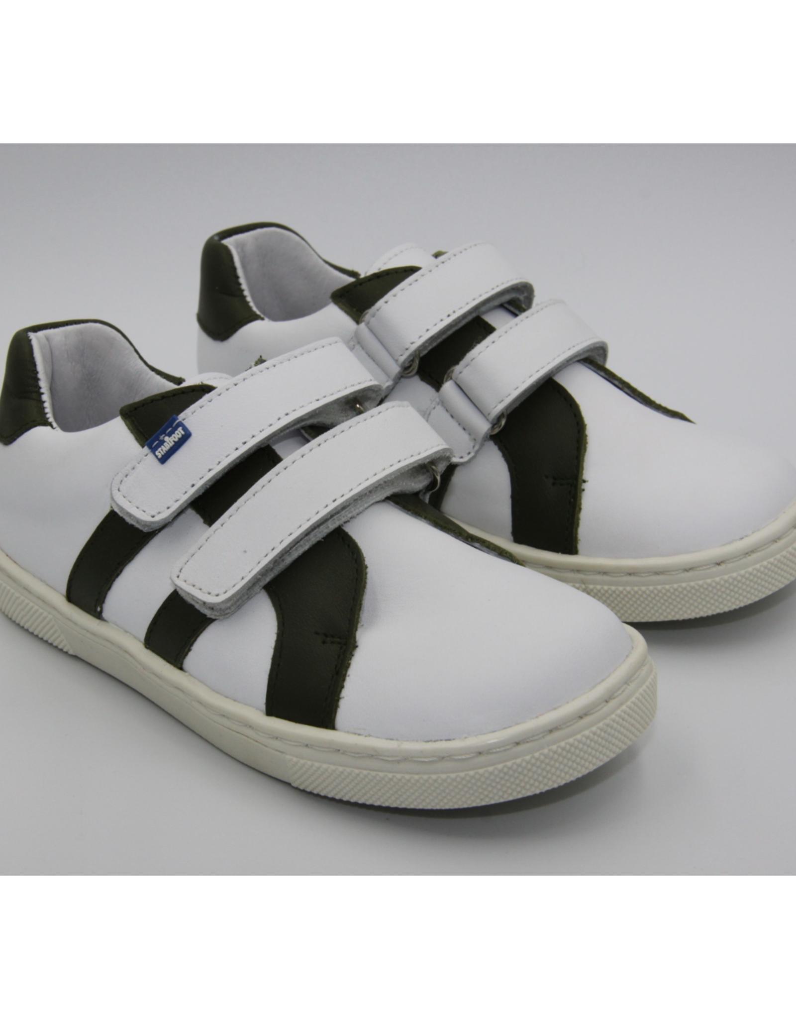 Stabifoot Stabifoot sneaker wit - kaki