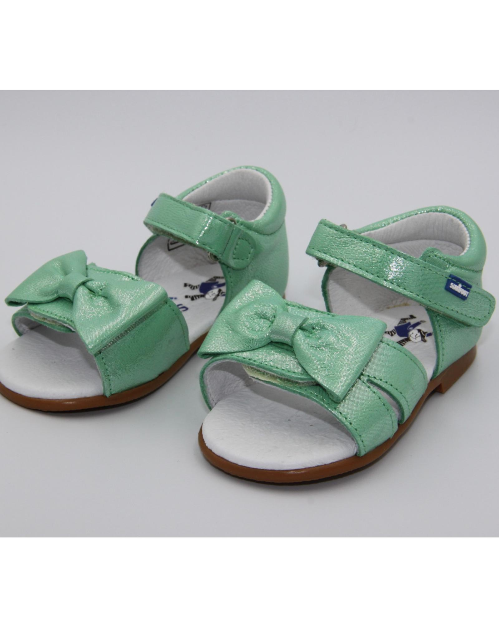 Stabifoot Stabifoot sandaal strik muntgroen