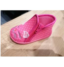 Tooti Tooti pantoffels roze poes