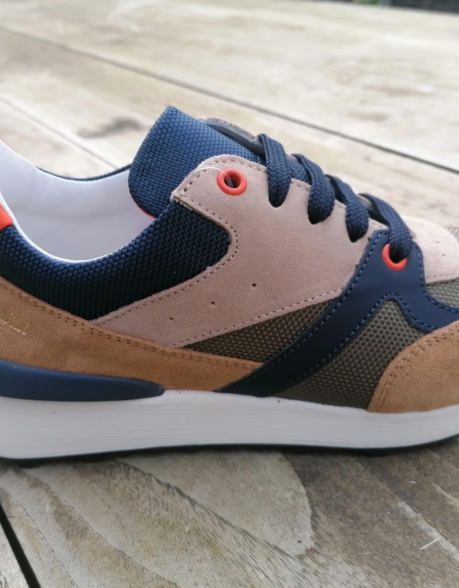 Andrea Morelli Andrea Morelli sneaker bruin - kaki - blauw