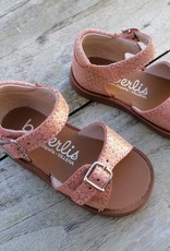 Beberlis Beberlis sandaal zalmkleur