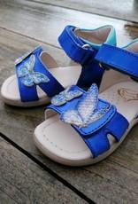 Stones And Bones Stones And Bones sandaal vlinder blauw