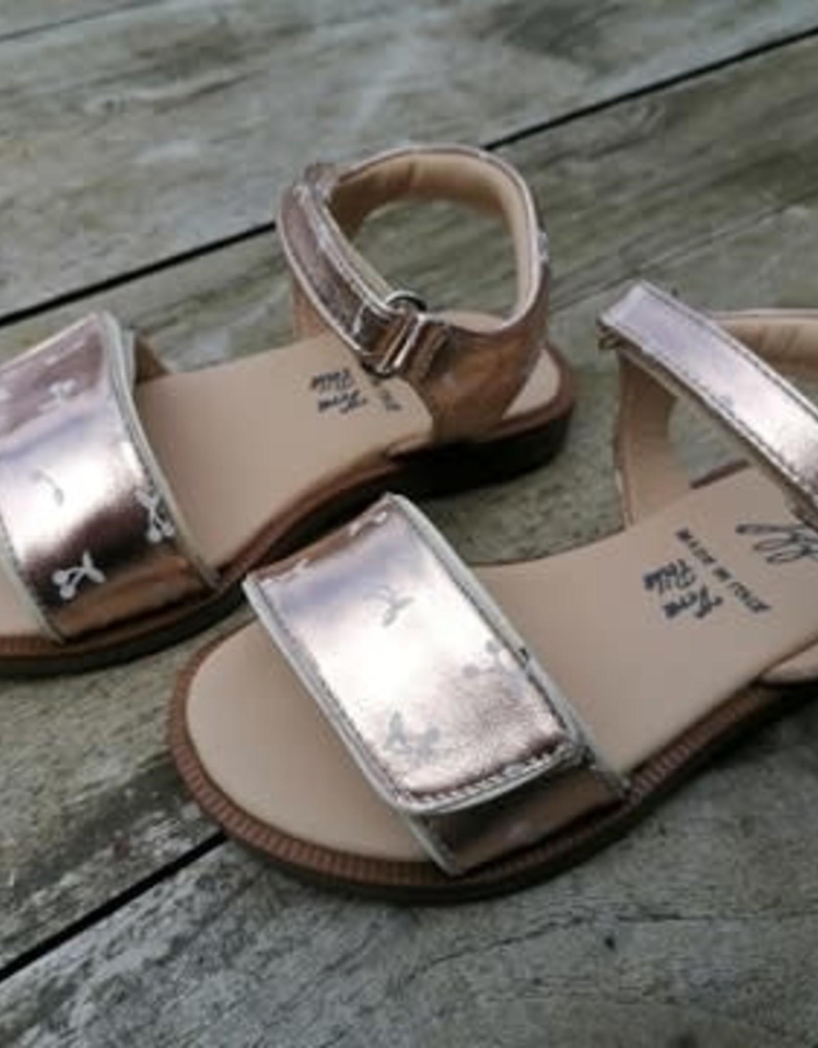 JFF Jff sandaal goud met kersjes