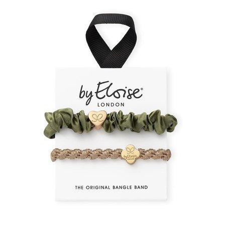 "Elastiek ""Gold & Olive"""
