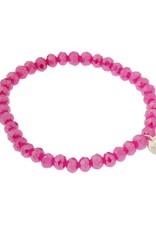 Biba Biba armband roze dik