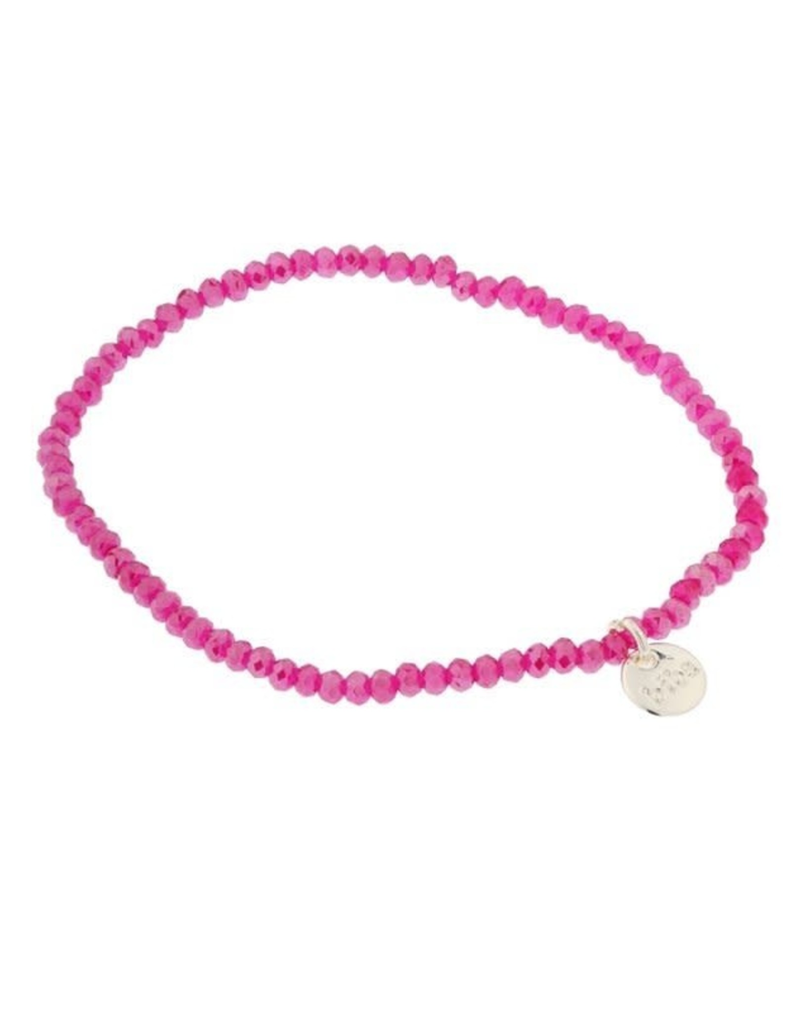Biba Biba armband roze dun
