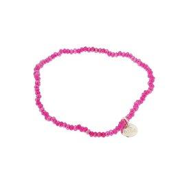 Biba Biba armband roze zeer dun