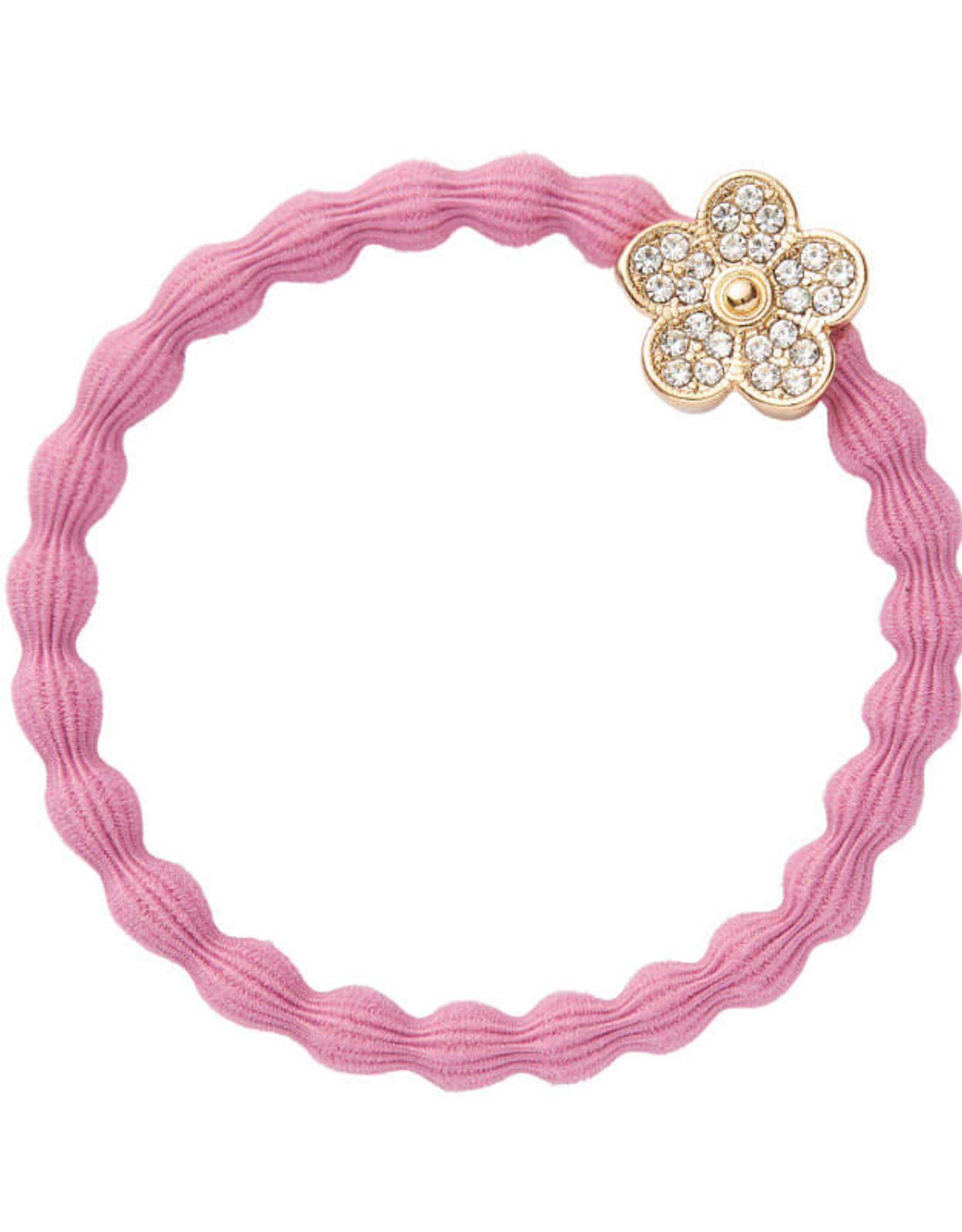 By Eloise By Eloise bloem steentjes roze