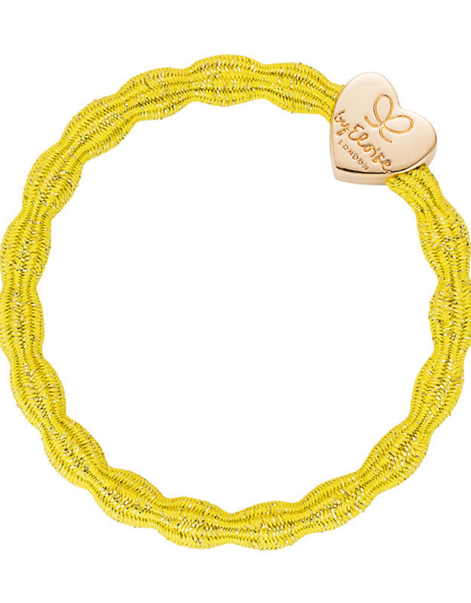 By Eloise By Eloise elastiek geel gouden hart