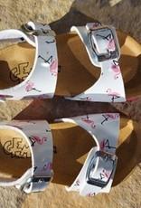 Biogem high Sandalen flamingo