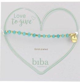 Biba Biba armbandlicht turqouise goud