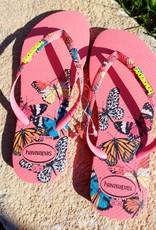 Havaianas Havaianas vlinder roze     Eur 35/36
