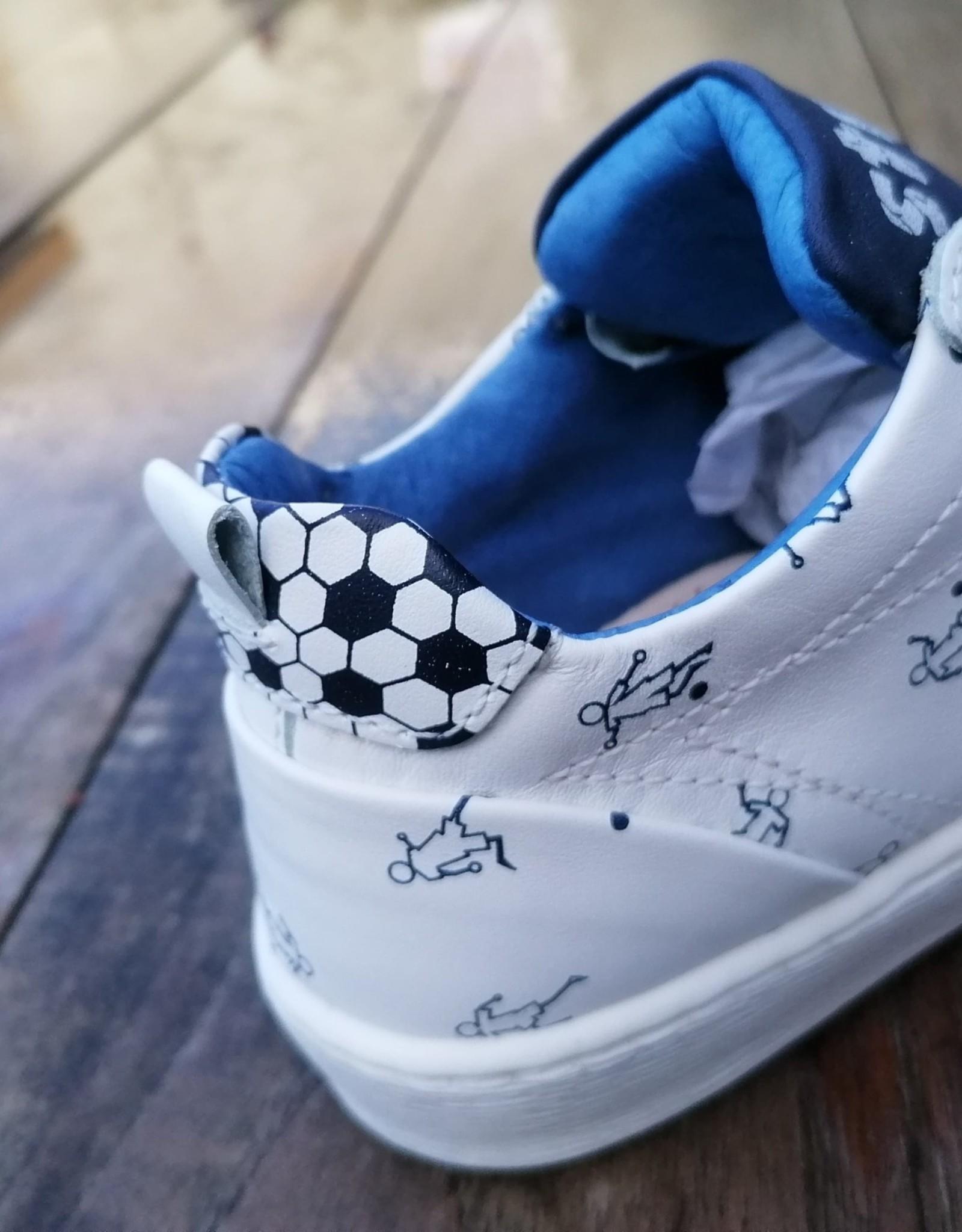 Stones And Bones Stones And Bones sneaker voetbal blauw
