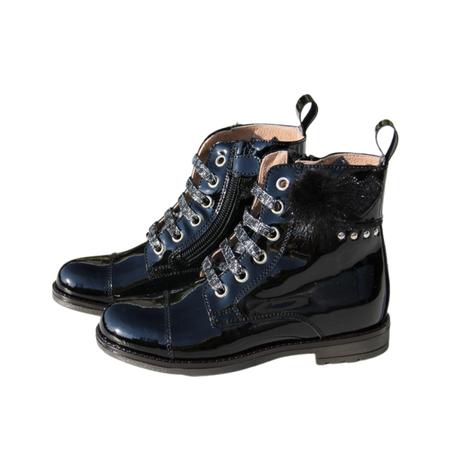 Boots zwart lak