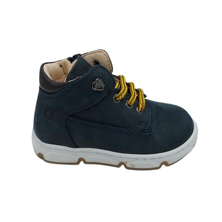 Sneaker blue/dark brown