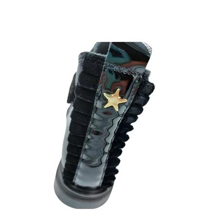 Chelsea boots zwart lak