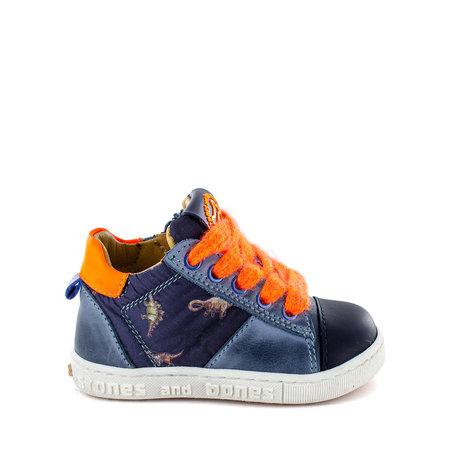DOST Calf - Textile Jeans + F.Orange