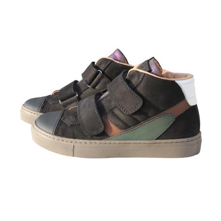 Sneakers zwart velcro