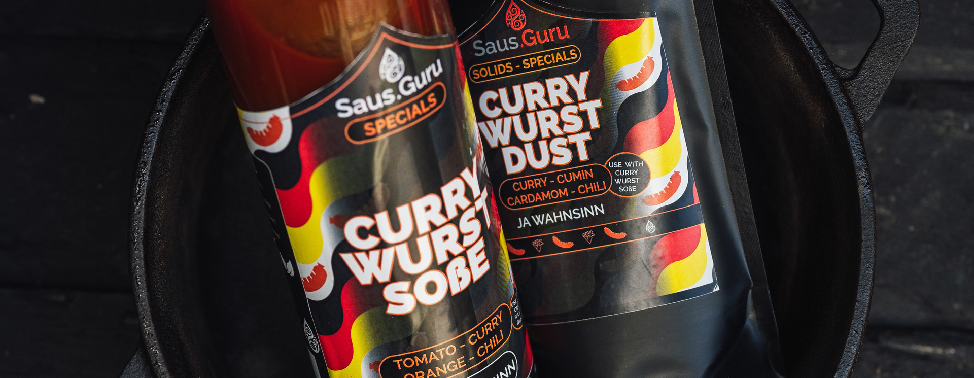 Currywurst + Dust