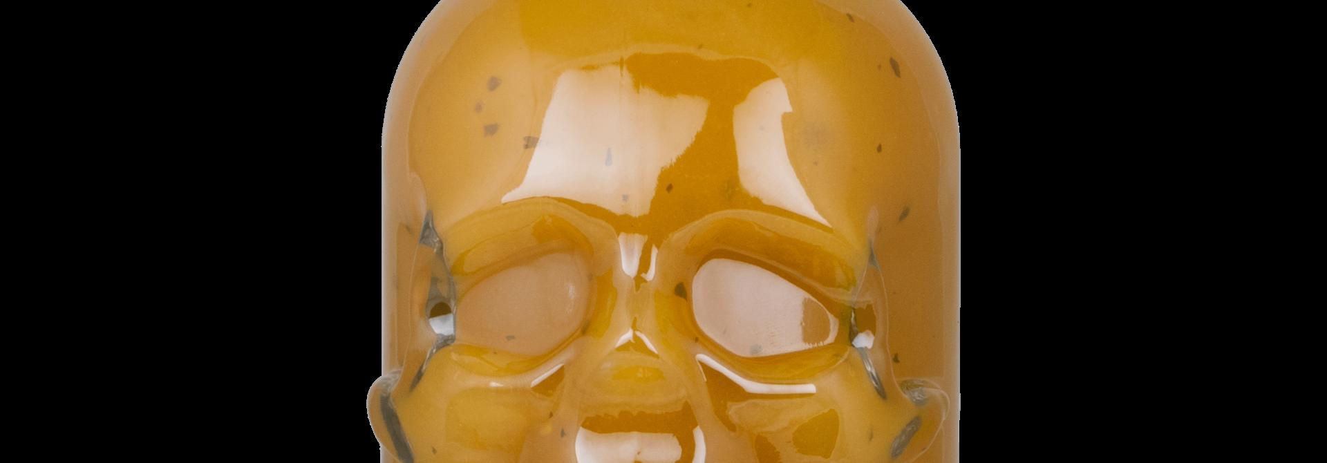 Skull Hot Sauce Mexican Habanero Fever