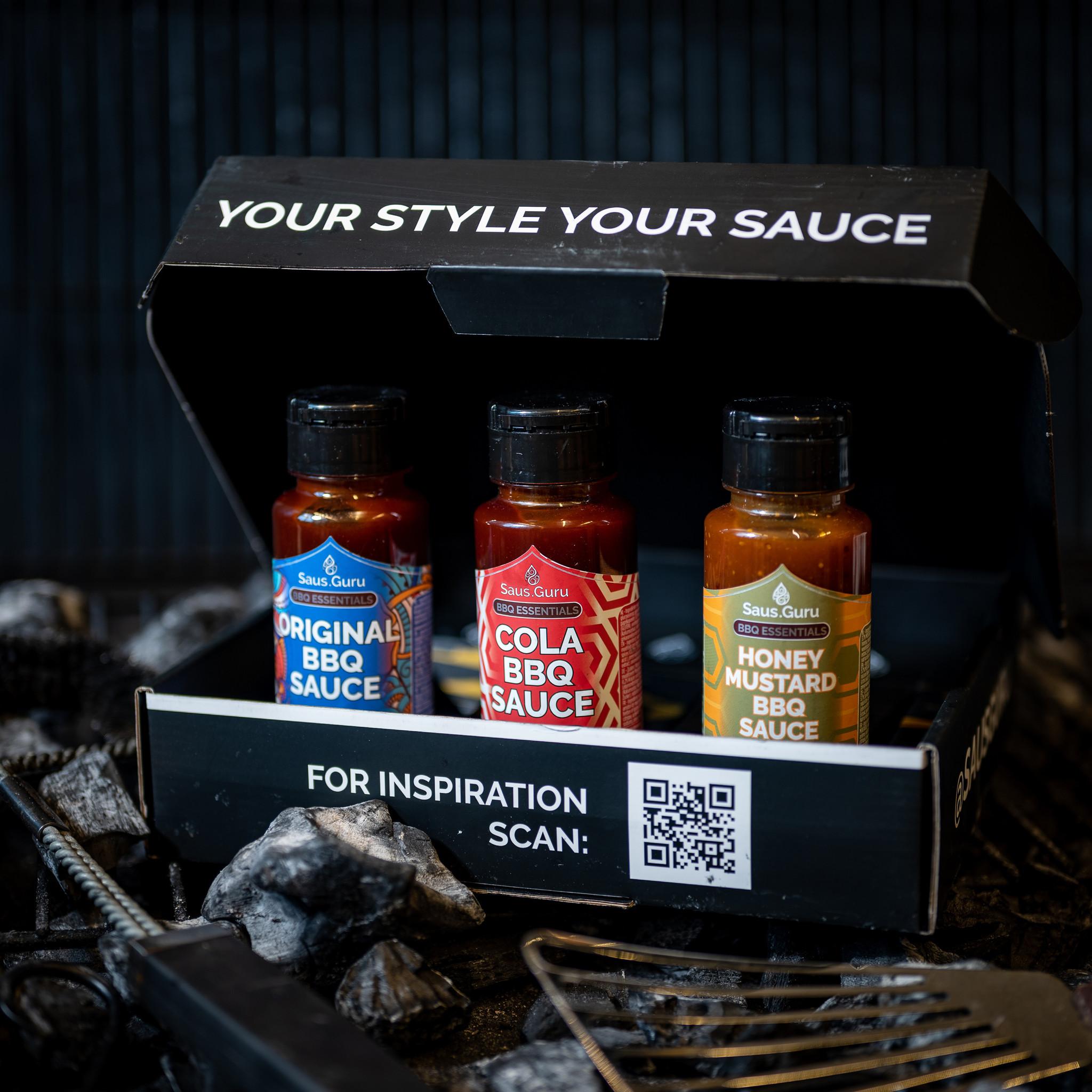 Saus.Guru Gift Pack BBQ Essentials Nr1-2