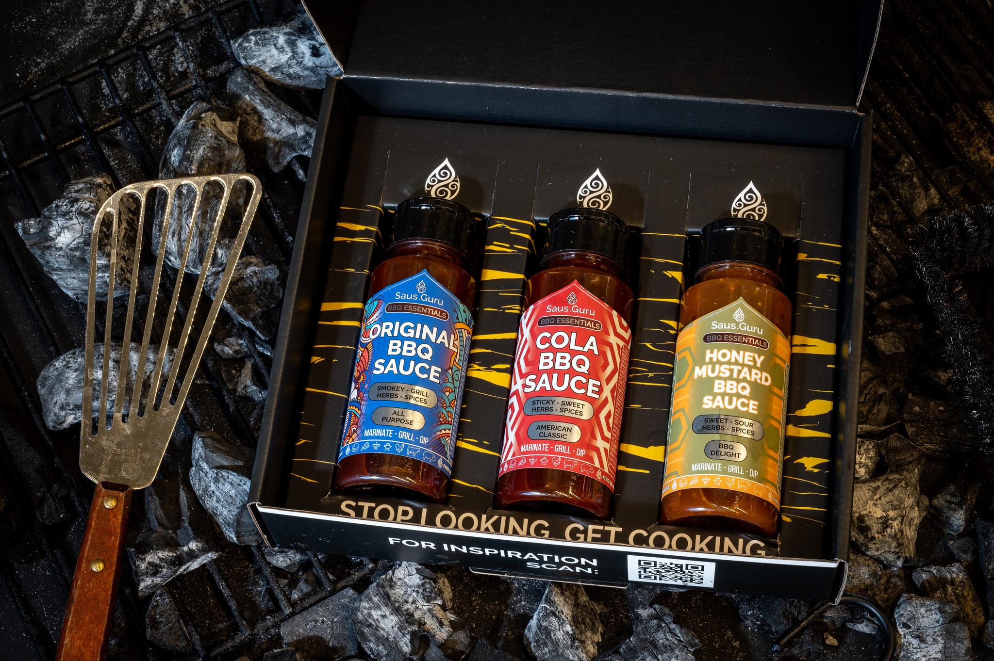 Saus.Guru Gift Pack BBQ Essentials Nr2-2