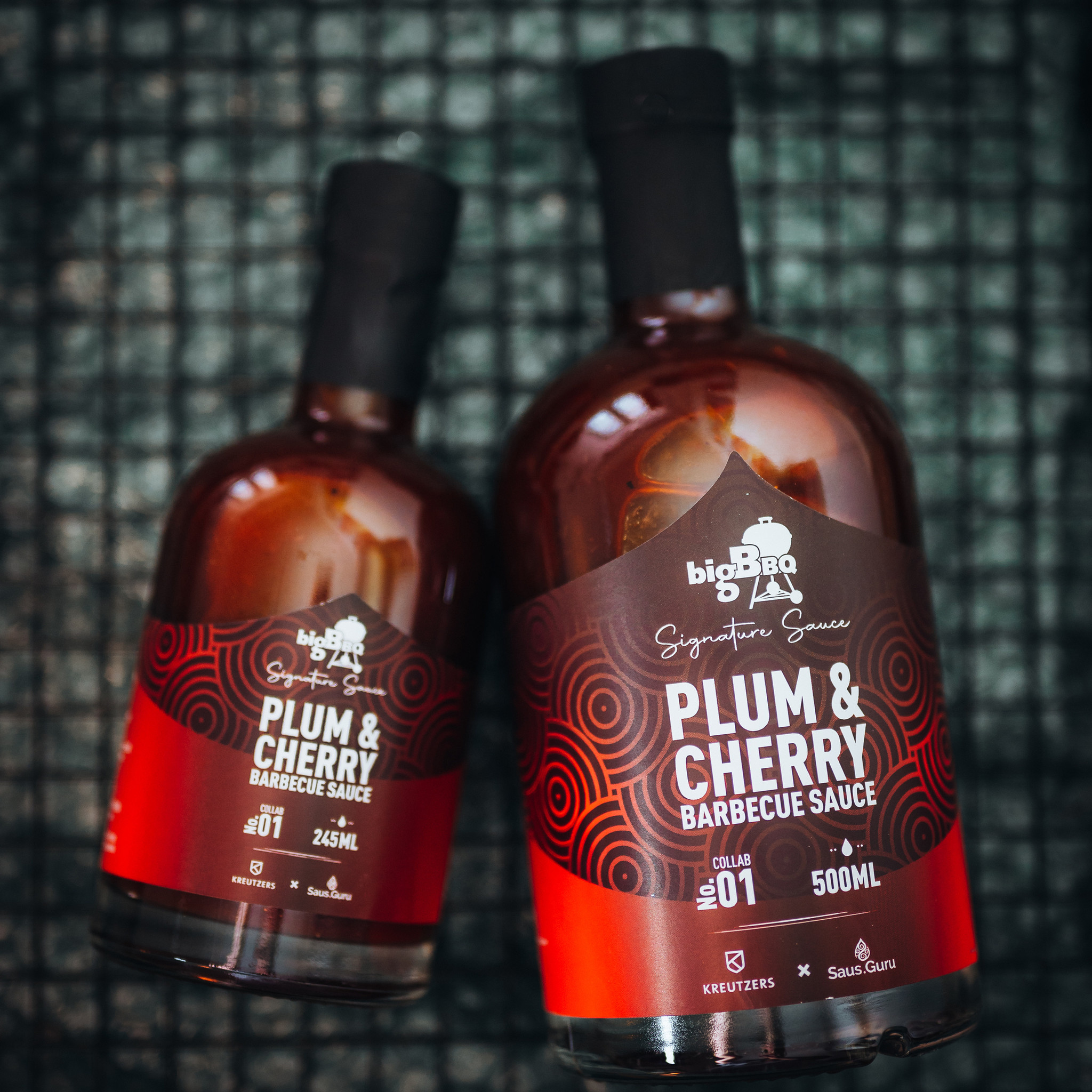 BigBBQ - Plum & Cherry BBQ Sauce-2