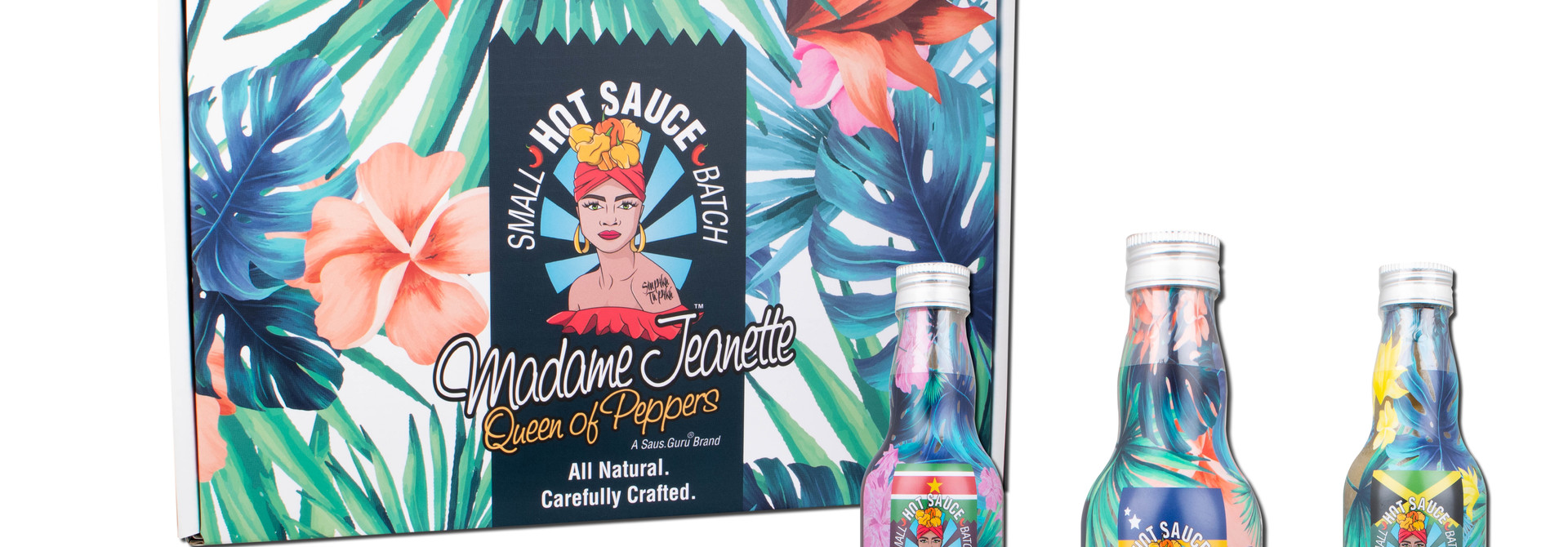 Madame Jeanette Hot Sauce™️ - 3 Bottle Gift Box