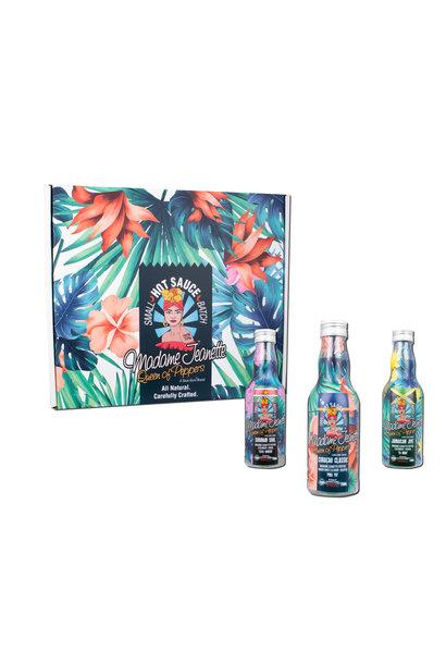 MmeJ - 3 Bottle Hot Sauce Gift Box