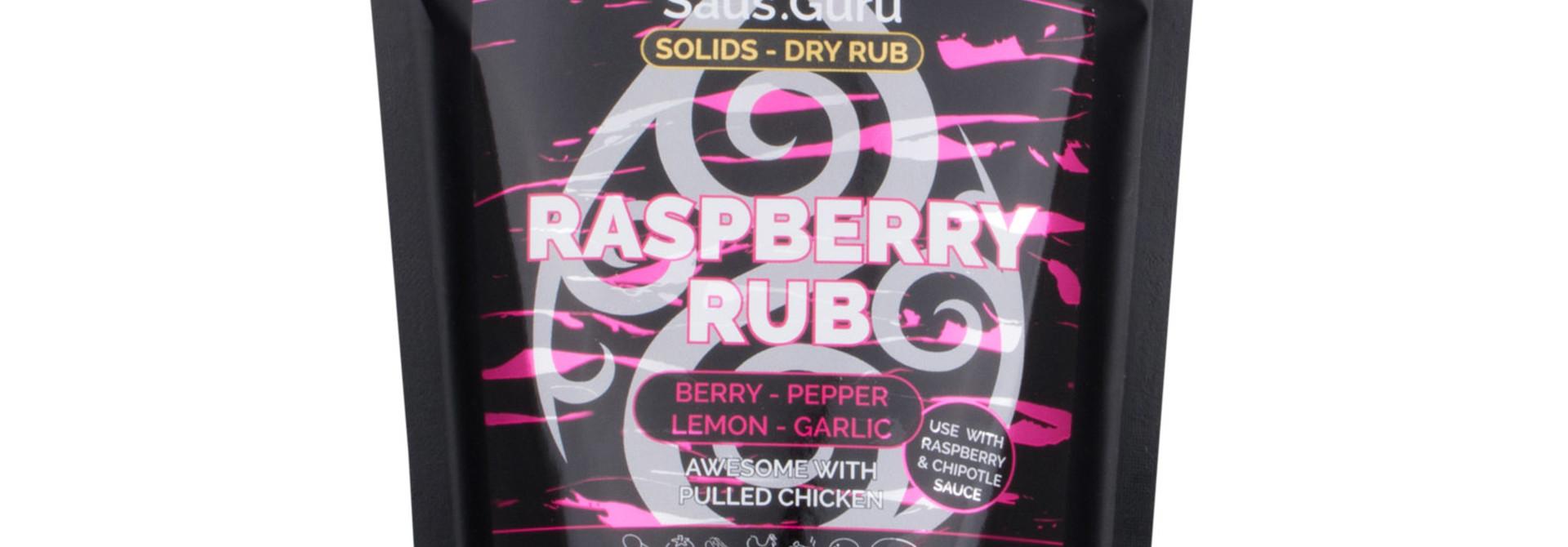 Saus.Guru's Raspberry Rub