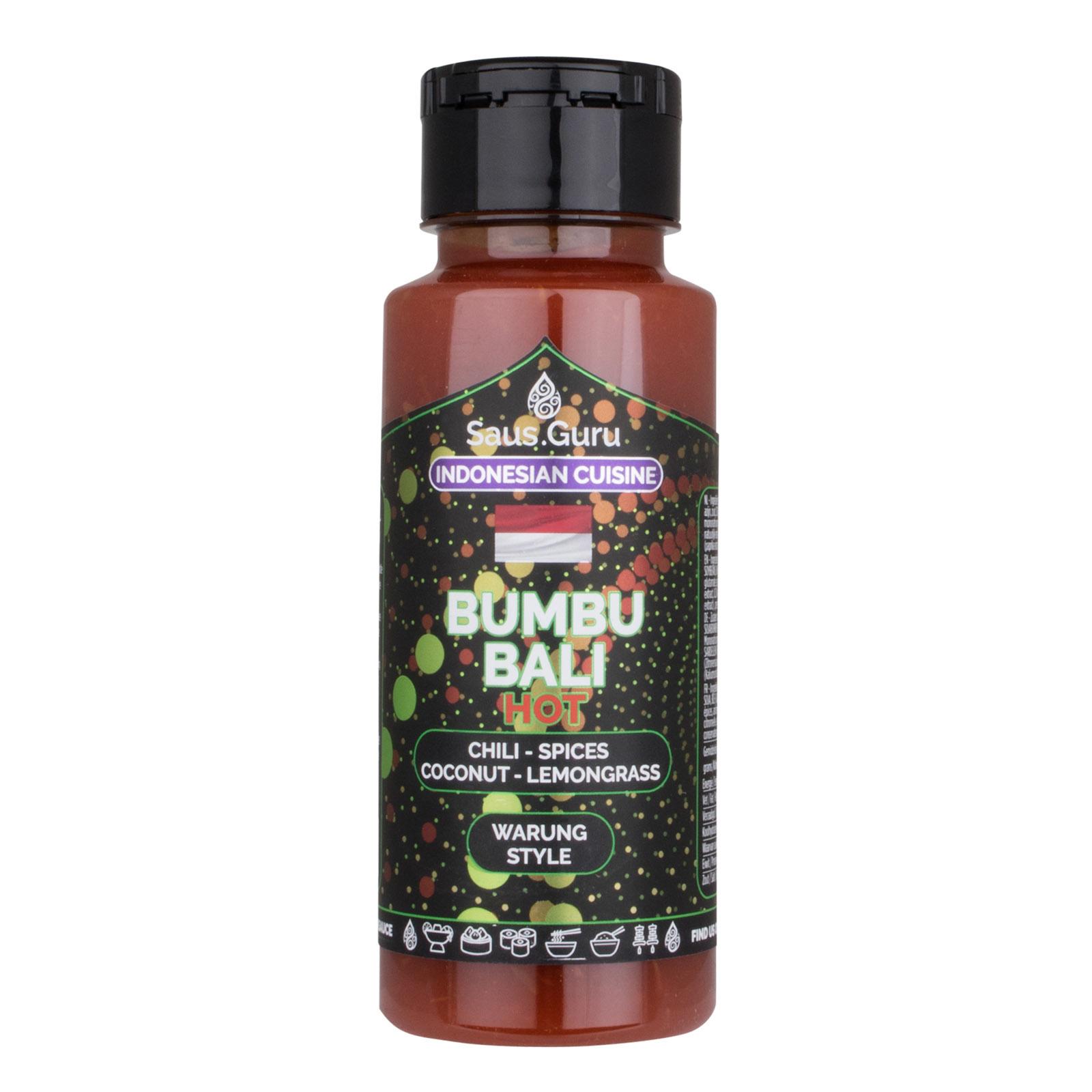 Saus.Guru's Bumbu Bali Hot-1
